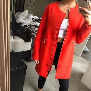 New with tags H&M red/orange jacket